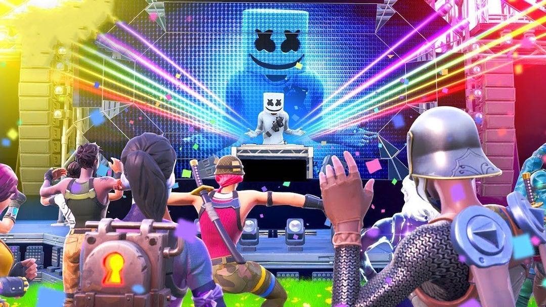 Marshmello entre dans l'histoire avec le tout premier concert dans le jeu Fortnite