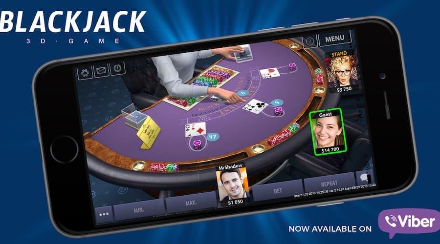 KamaGames s'associe à Viber pour le lancement d'un jeu de Blackjack 3D